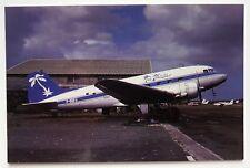 Air Antilles Douglas DC-3C postcard