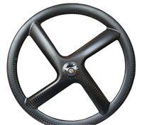 700C Carbon 4 Spokes Clincher Wheels four-spoke carbon wheel for Track/Road Bike