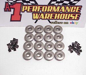 """16 Xceldyne 300M Steel Mini Retainers 1.175"""" OD- .685"""" Locator w/ Mini Locks"""