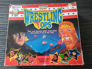 WWF WWE WRESTLING TOPS OFFICIAL 1990s RARE GAME KIDWORKS FUNCTIONS BATTLING HULK