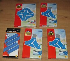 Bundle of new Tomy Tomica Road Rail track crossroad junction  7519 7520 85206