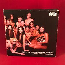 "Fun Lovin 'Criminals King of New York 1997 UK 7"" RED Vinyl Single Excellent cond"