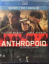 Anthropoid Blu-ray DVD Digital HD NEW SEALED