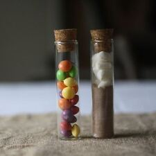 1 x Test Tube Wedding Favour With Cork Stopper