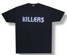 The Killers-Silver Logo-X-Large Black Lightweight T-shirt