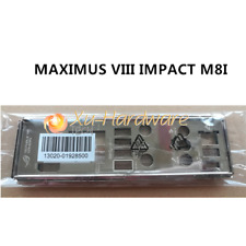 NEW IO I/O SHIELD back plate BLENDE BRACKET for ASUS MAXIMUS VIII IMPACT M8I