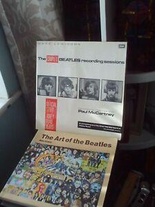 The Complete Beatles Recording Sessions Lewisohn / Art of Beatles Evans 2x Books