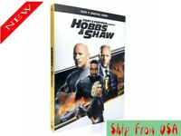 Fast And Furious Presents HOBBS & SHAW DVD New & Sealed  USA 1-3 DAYS shipping
