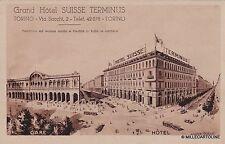 # TORINO: GRAND HOTEL SUISSE TERMINUS