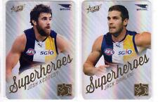 2015 AFL Select Champions Josh Kennedy & JACK  DARLING Superheroes