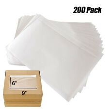 200 Packing List Envelopes 6x9 Invoice Slip Pouch Self Adhesive Shipping Label