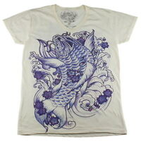 WORK japan Irezumi japanese tattoo ink carpa koi fish dope #WK107 T-Shirt M L XL