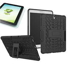 HIBRIDO exteriores Bolso negro para Samsung Galaxy Tab S3 9.7 t820+