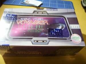 1995 SKYBOX STAR TREK VOYAGER SEASON 1 SER 2 BOX  tatoo in every pack SALE LOOK!