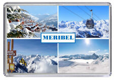 Meribel, Ski resort France Fridge Magnet