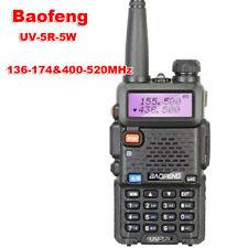 Baofeng UV-5R Walkie Talkie 136-174&400-520MHz UV5R 5W FM Transceiver UV Radio
