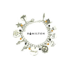 Broadway Musical Hamilton ( 12 Themed Charms) Assorted Metal Charm BRACELET