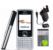 Nokia 6300 - Silver Black Gold - Unlocked - Classic Mobile Phone Keypad Camera