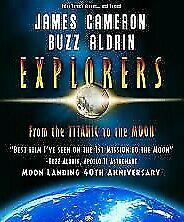 Explorers DVD James Cameron Buzz Aldrin Documentary - BRAND NEW & SEALED