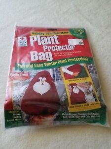 Easy Gardener Holiday Santa Character Plant Protector Bag 51 x 63 New In Package