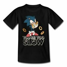 Sonic The Hedgehog You're Too Slow Teenager T-Shirt