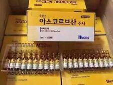 Korea Huons Ascorbic Acid Vitamin C Anti-Aging Whitening 2ml x 50 amps