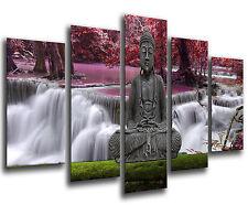 Cuadro Moderno Fotografico Buda Buddha base madera,145 x 62 cm ref. 26246