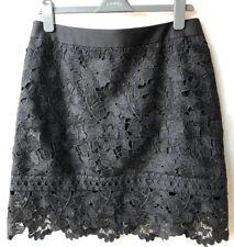 Ted Baker 'Beay' Lace Mini Skirt Black Size 4 UK 14 RRP £140