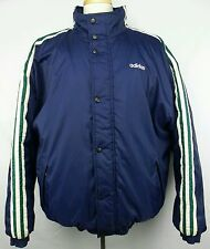 Vintage 90s Adidas Full Zip Button Up Winter Puffer Jacket Size Adult XL