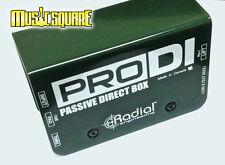 Radial Engineering ProDi Passive Instrument Direct Box Pro Di Mint! Fast Ship!
