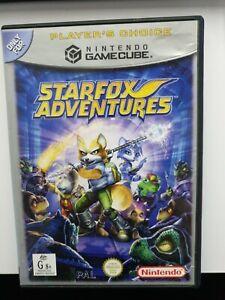 STARFOX ADVENTURES Nintendo GameCube Game Read Description