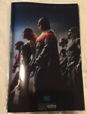 Sdcc 2017 DC Justice League Of America #10 Foil Variant In Hand!
