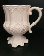 Victorian Tin Glazed Earthenware Cup c.1870