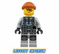 LEGO Ninjago Minifigure - Shark Army Thug - Ninjago Lego Movie njo356 FREE POST