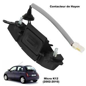 Bouton Electrique de Coffre Hayon Micra 3 K12 25380AX60B 25380AX60A 25380AX600