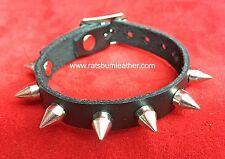 Single strap Small Spike Studded bracelet wristband wrist cuff band Steam punk