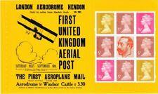 2011 GB Machin Pane SG Y1763m From First UK Aerial Post Prestige Booklet - UM