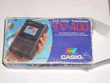 Casio TV-400 LCD Pocket Color Television Not tested.
