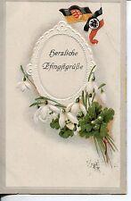 Erster Weltkrieg (1914-18) frankierte Ansichtskarten mit dem Thema Ostern