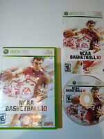 NCAA Basketball 10 Microsoft Xbox 360 2010 - Complete! Tested! CIB College Game