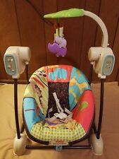 Fisher Price Space Saver Swing And Seat For Sale Ebay