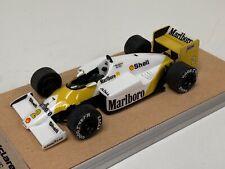 1/43 Meri McLaren MP 4/C Porsche Marlboro 1986 F1 Season Keke Rosberg  A1122