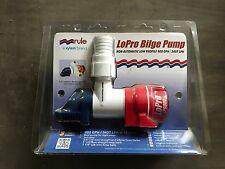 Pompe de cale Rule Lopro LP900D immergeable manuel 12V 3400L/h