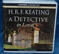 A DETECTIVE IN LOVE BY H.R.F.KEATING AUDIO BOOK ON 6 X CDS READ BY S.MITCHELL