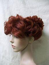 Dark Auburn 50s Housewife Updo Costume Wig I Love Lucy Retro Wilma Flintstone