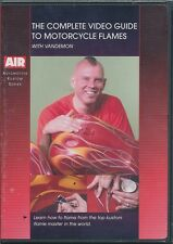 Airbrush DVD - The Complete Guide To Motorcycle Flames with Vandemon