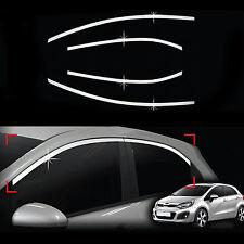 Chrome Door Window Glass Frame Molding Trim Cover for 12+ Rio 5 DR