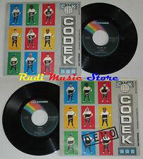 """LP 45 7"""" CODEK Me me me Demo 1980 ITALY MCA MCAN 49398 cd mc (*)"""