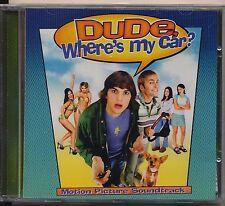 Dude, Where S My Car - Original Soundtrack cd promo