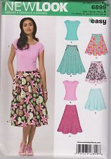 From UK Sewing  Pattern Skirt & Top 10-22 us #6899